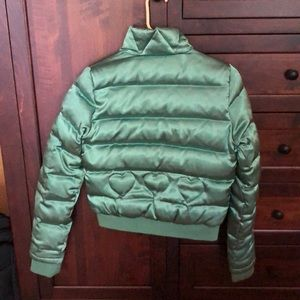 Juicy Couture Jackets & Coats - Vintage Juicy Couture Green Bomber